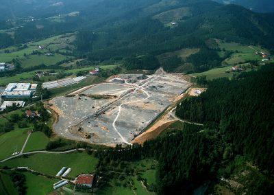 """Urbanización del polígono industrial """"Larramendi"""" en Bergara"""