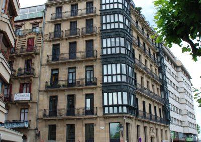 24 viviendas – Pº Fueros, 2 (Donostia)