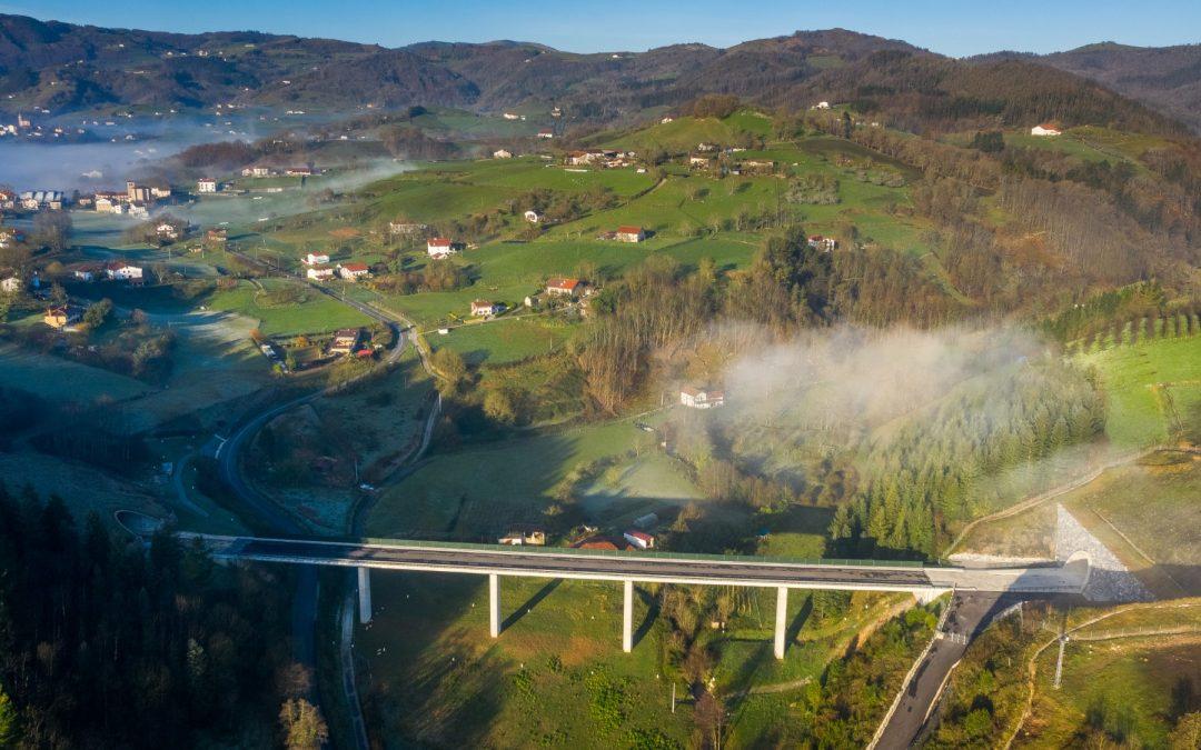 Plataforma de la nueva red ferroviarios PV – Tramo: Andoain-Urnieta