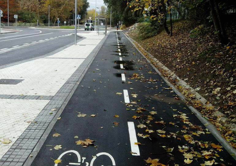 Vía ciclista-peatonal Astigarraga-Hernani