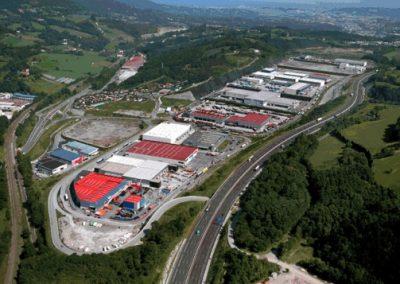 Urbanización Polígono Industrial Lanbarren – Oiartzun